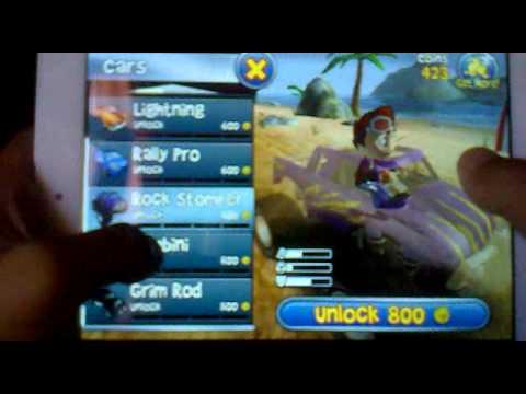 Обзор игры Beach Buggy Blitz на планшете Explay Surfer 8.02 - # 3