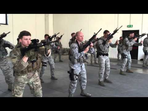USAF Security Forces Training - YouTube
