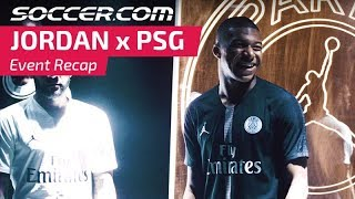 Jordan x PSG Event Collaboration Recap