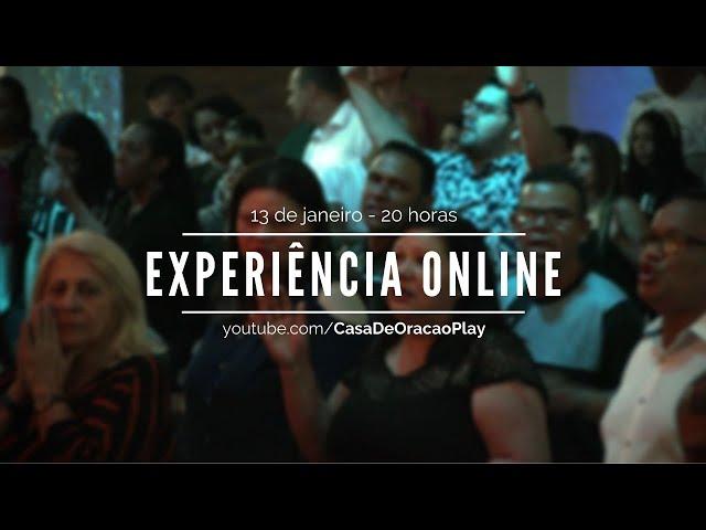 13jan21 Pr Rogerinho | experiência online