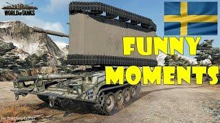 World of Tanks - Funny Moments | SWEDISH TANKS!