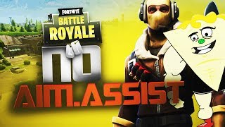 The NO AIM ASSIST CHALLENGE in Fortnite Battle Royale (Channel Introduction)
