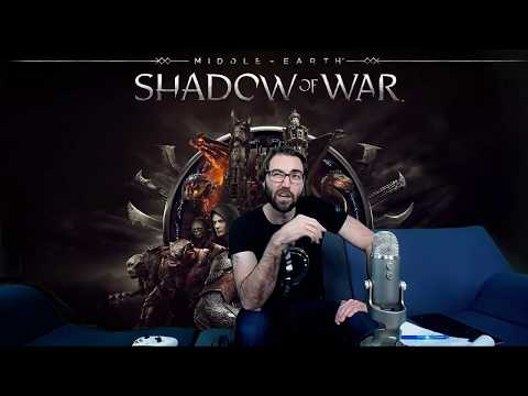 Shadow of War Livestream: Outlaw Tribe, Gravewalker Difficulty, Online Fight Pits Strategy