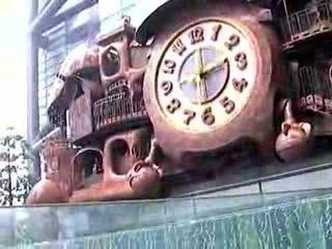 Big clock in Japan