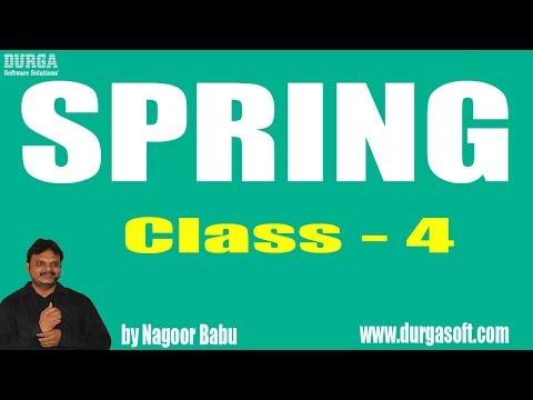 Learn Spring Programming Tutorial Online Training by Nagoor Babu Sir On 25-04-2018
