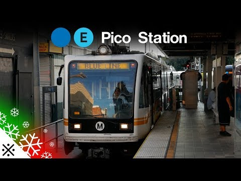 LA Metro: Blue and Expo Lines at Pico Station