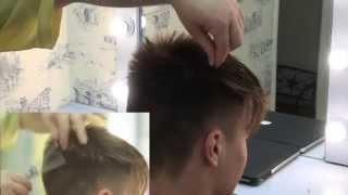 Модная мужская стрижка 2015 новинка/ Men's Haircut Tutorial(Технология модной мужской стрижки 2015! Men's Haircut Tutorial Стрижка с использованием потрясающего инструмента ..., 2015-06-07T21:44:38.000Z)