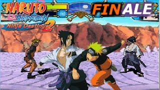 "Naruto Shippuden Ninja Destiny 2 (DS) | FINALE ""Naruto VS Sasuke THE SEQUEL!!"""