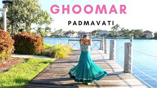 Padmavati Ghoomar Song Dance | Monica Vaswani | Bollywood Dance