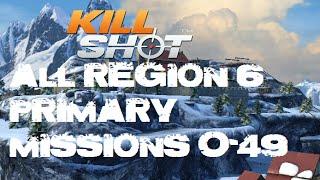 Kill Shot All Primary Mission Region 6 Walkthrough Gameplay (Part 0-49)