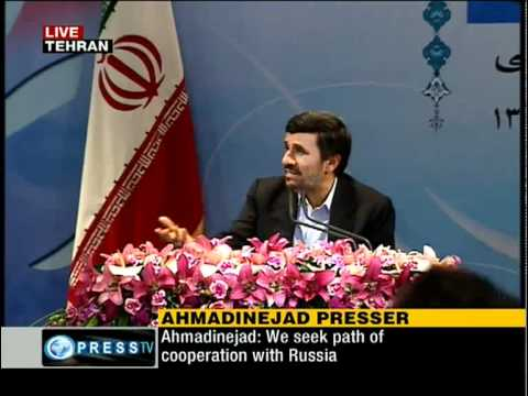 [P6/7] Pres. Mahmoud Ahmadinejad at press conference by domestic and foreign reporters [Nov 29,2010]
