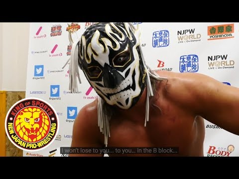 BEST OF THE SUPER Jr. 25  (May 19) - Post-match Interview [6th match]