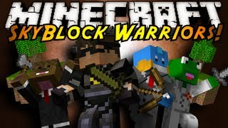 Minecraft Mini-Game : SKYBLOCK WARRIORS!