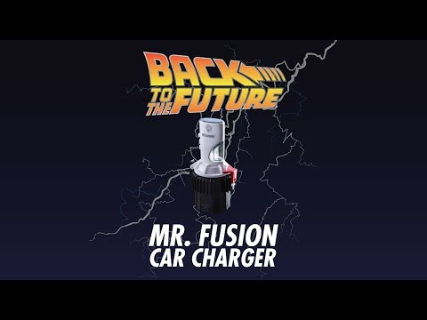 Back to the Future Mr Fusion Car Charger From ThinkGeek