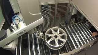 IRUÑA TECNOLOGÍAS- Robot OMRON con visión artificial