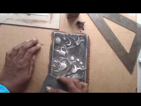 Applying Patina to Pewter  Handmade Journal