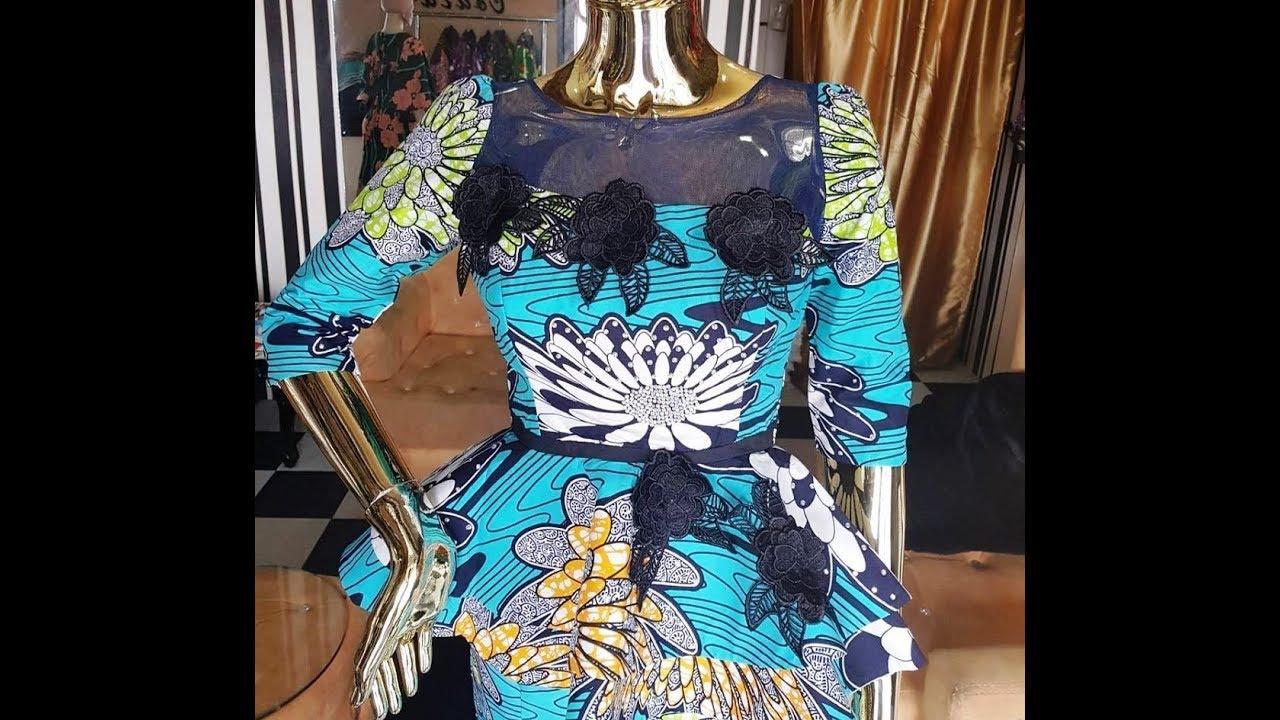 Latest Ankara Styles 2017 :Modern Peplum Top, Gown, Tops