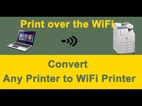 how-to-connect-printer-to-wifi-router-|-convert-any-printer-to-wifi-printer-using-ethernet-port