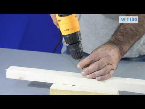 Електрическа отвертка / Wert 1130 / 280W видео