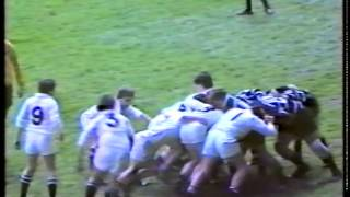 DC Thomas Cup under 11s Cup Final 1985: Swansea against Pontypridd