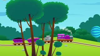 Train builder - mobile game for kids - trains, transporting
