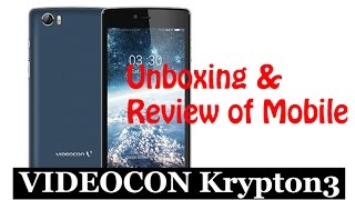 videocon krypton3 v50jg   unboxing   review   features   world tech tuts