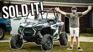 I SOLD MY RZR 1000! | It's time to make a change...