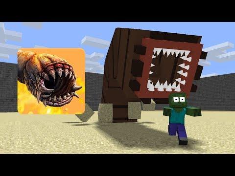 Monster School : Death Worm  Minecraft Animation