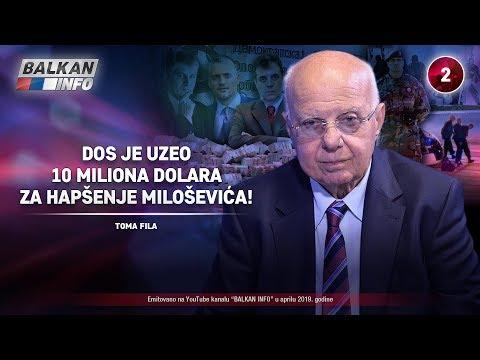 INTERVJU: Toma Fila -  DOS je uzeo 10 miliona dolara za hapšenje Miloševića! (11.4.2019)