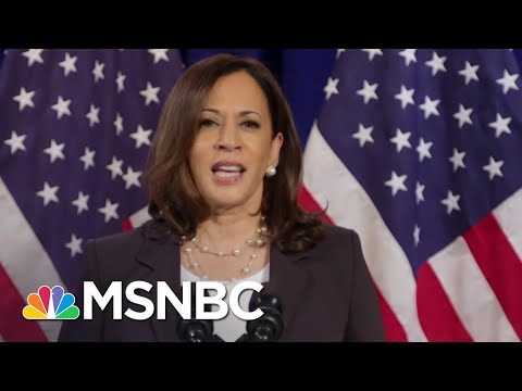 Wallace: Kamala Harris 'Indicted Donald Trump With Donald Trump's Own Words'   Deadline   MSNBC