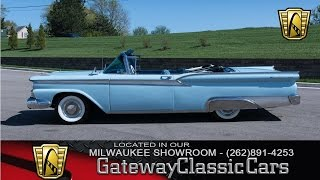 1959 Ford Galaxie Now Featured In Our Milwaukee Showroom #224-MWK