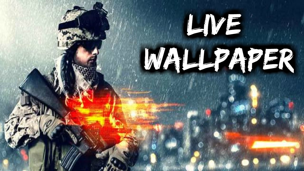 Battlefield 4 live wallpaper for android - YouTube