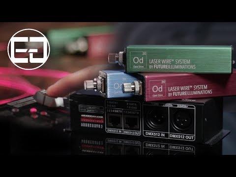 Laser Wire® with DMX512 (Tutorial Video)