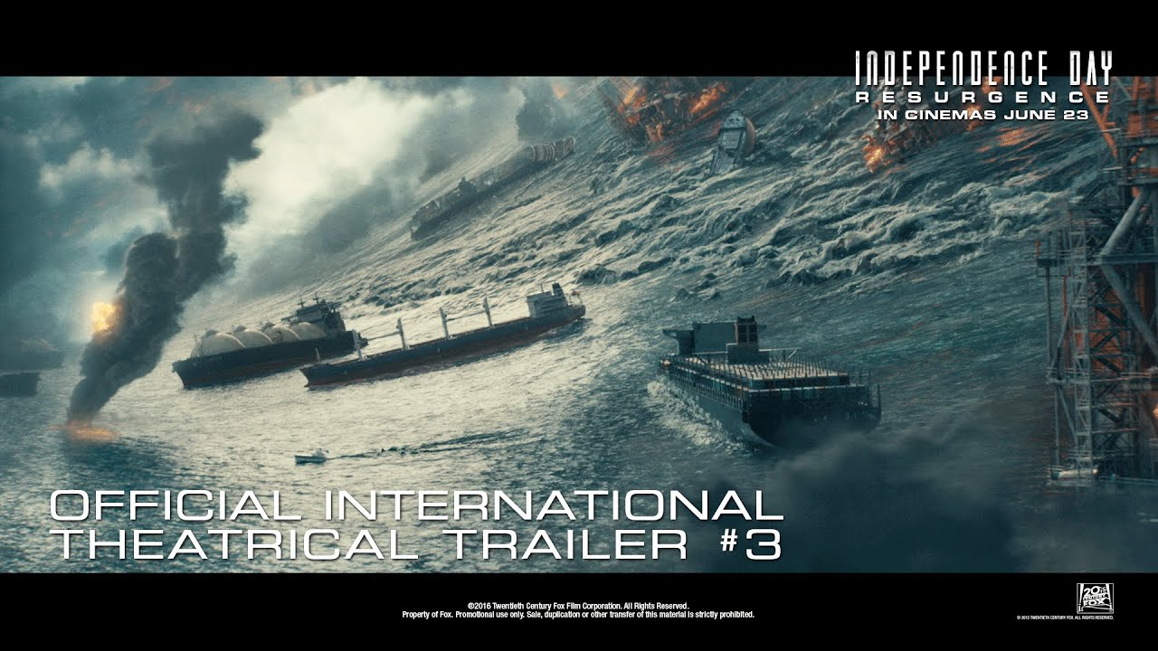 Download Independence Day: Resurgence [Official International Theatrical Trailer #3 in HD (1080p)] Extended