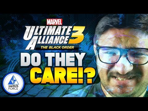 HYPED For New Marvel Ultimate Alliance 3... But Does Nintendo CARE!?
