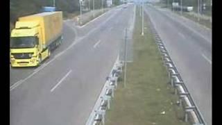 crazy european truck drivers