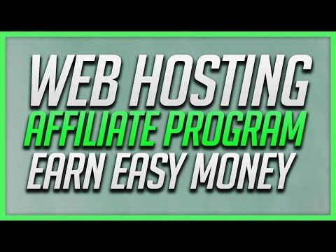 Web Hosting Affiliate Program - Make Easy Online Money