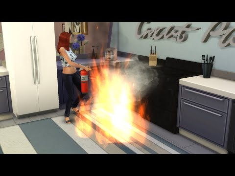 FIRE !!!!!! #132 Die Sims 4 - GIRLS-WG - Let's Play The Sims 4