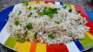 Pineapple- Coconut White Rice, Recipe, Easy Delicious,