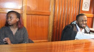 Jacque Maribe and Joseph Irungu appear in court over the murder of Monica Kimani