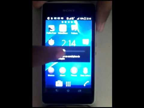 Como formata o celular SONY Xperia E1