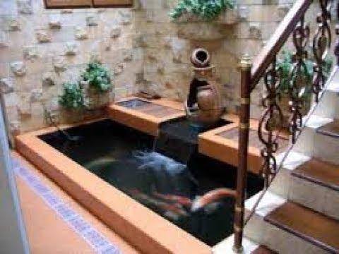 kolam ikan cantik di bawah tangga - youtube