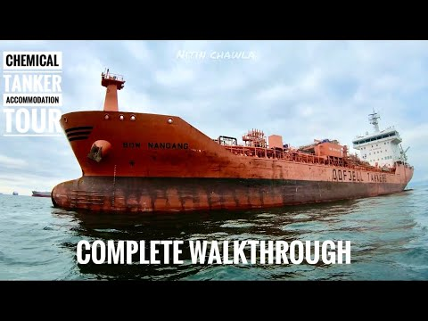 MEGA CARGO SHIP ACCOMMODATION TOUR!||DANGEROUS CHEMICAL TANKER-LIFE AT SEA EP04