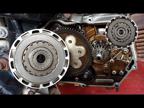 How to change clutch plates motorcycle 70cc OR How to install clutch plates to CD-70 motorcycle