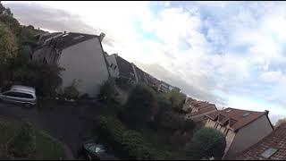 Test Camera  VR 360° avec  drone effacé sur vidéo en 4K