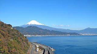静岡市さった峠 広重の富士山