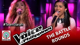 "The Voice of the Philippines Battle Round ""Tell Him"" by Demie Fresco and Rosalyn Navarro (Season 2)"