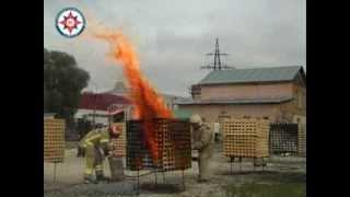 III Всероссийские огневые испытания первичных средств пожаротушения(18-19 сентября 2013г на полигоне Производственного объединения