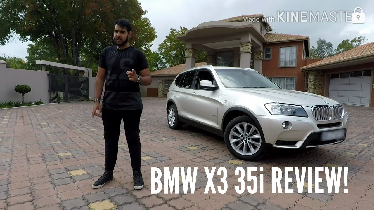 BMW X3 35i REVIEW  YouTube