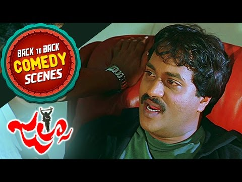 Sunil Back To Back Comedy || Jalsa Movie || Pawan Kalyan, Ileana
